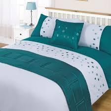 Single Bed Sets Sea Green Embroidered Single Bed Set Duvet Sets Bedding