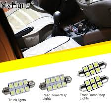 jeep wrangler map light replacement for jeep wrangler convenience bulbs car led headlight c10w w5w