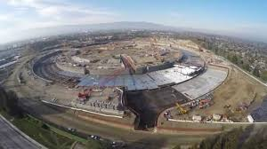 apple campus 2 january 2015 update in 4k youtube