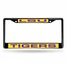 lsu alumni sticker customize lsu tigers license plate frames by auto plates