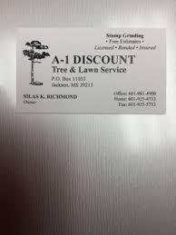 a 1 discount tree lawn service llc clinton ms 39056