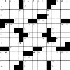 blank crossword templates u0026 crossword puzzle template crossword