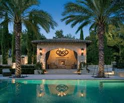 Backyards With Pools Swimming With The Stars 12 Celebrities U0027 Cool Pools Pool Houses