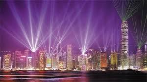 hong kong light show cruise symphony of lights show evening cruise on wing on hong kong sar