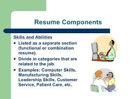 Skills On A Resume Examples by Resume Workshop