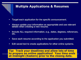 How To Create A Federal Resume Ala Ascla 2011 Virtual Convergence How To Find A Federal Job