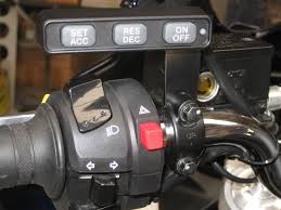motorcycle electronic cruise control motorcycle cruise controls