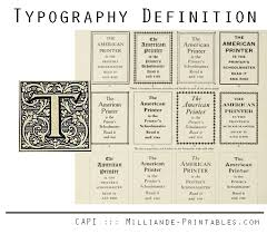 the meaning of typography what does typography typography