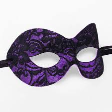 purple masquerade masks gold lace masquerade mask metallic from soffitta on etsy