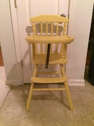 Painted Metal Vintage Cosco High Chair Dining Room Lovable Jenny Lind Wooden High Chair For Enjoyable