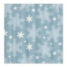 snowflake winter shower curtain shower curtains as photography