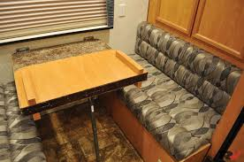 Rv Dinette Booth Bed Booth Dinette To Bed Transformation Trends And Rv Kitchen Table