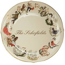 twelve days of platter by lenox dishes