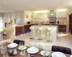 Kitchen Open To Dining Room Open Kitchen Dining Room Designs Zhis Me