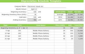 Ads Depreciation Table Asset Schedule Template 28 Images Depreciation Schedule