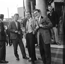 the teddy boys hairstyle 17 vintage pictures of dapper british teddy boys and girls