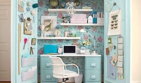 Ideas To Decorate An Office 15 Closets Turned Into Space Saving Office Nooks
