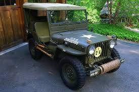 m38 jeep 1951 willys m38 military jeep fully restored antique classic