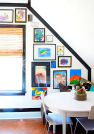 art gallery wall for kids chaotically creative