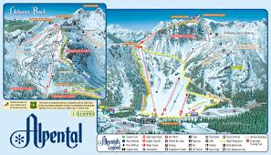 Utah Ski Resort Map by Trail Map Alpental