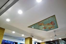 controsoffitti decorativi controsoffitto in cartongesso e tinteggiatura gelateria colombina