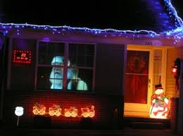 how to do a window virtual santa projection with a used video