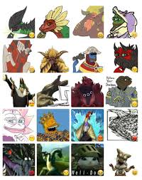 Monster Hunter Memes - monster hunter memes stickers telegram