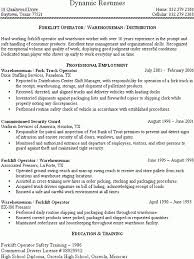 Sample Resume Of Driver by Download Forklift Resume Haadyaooverbayresort Com