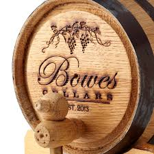 personalized wine barrel wine making kit uncommongoods
