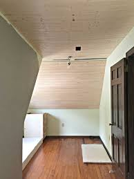 installing a mud ring when covering a popcorn ceiling with drywall