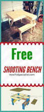 Knock Down Shooting Bench Plans Best 25 Shooting Table Ideas On Pinterest Shooting Bench Plans