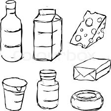 dairy product yogurt butter margarine milk cheese black