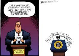 Nate Beeler Cartoons by How Some Editorial Cartoonists See The Christie Gwb Scandal Nj Com