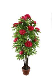 artificial plants and flowers artificial peony tree imitated