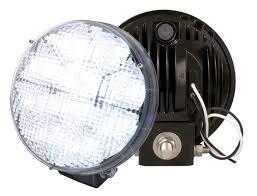 led work lights for trucks truck lite led work light with integrated mount 81712 truck lite