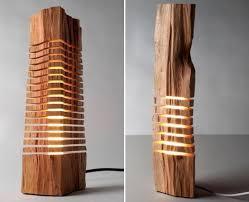 wood sculpture decor wood home decor interior lighting design ideas