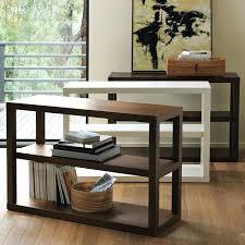 Mid Century Modern Bookcase Bookcase Mid Century Modern Low Bookcase Three West Elm Parsons