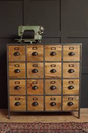 Apothecary Media Cabinet Industrial Reclaimed And Rustic Style Furniture Vincent And Barn
