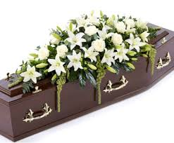 funeral casket casket spray in 3 sizes and with possibility of different