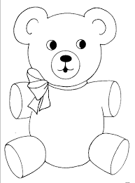 teddy bear coloring pages olegandreev me