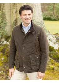 barbour leeward wax jacket mens from a hume uk