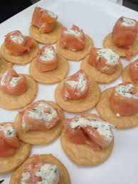 cuisine canapé smoked salmon cheese canapés recipe all recipes uk