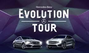 mercedes tour gla take center stage at upcoming mercedes evolution