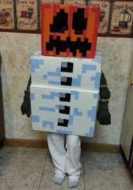 Steve Minecraft Halloween Costume Crab Fish Minidiy Monster Truck Halloween Costume Food