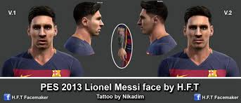 pes 2013 hairstyle pes 2013 messi face new hairstyle by h f t pes pes evolution