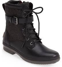 womens ugg motorcycle boots ugg kesey waterproof boot nordstrom