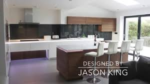 Alno Kitchen Cabinets Alno Star White Gloss And Walnut Kitchen Youtube