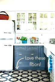 kitchen floor ideas with cabinets vintage kitchen flooring vintage kitchen with a built in ironing