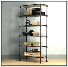 hand made walnut steel bookcase by bdagitz furniture throughout