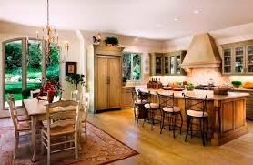 Area Rugs In Kitchen Glazed Kitchen Cabinets Kitchen Mediterranean With Area Rug